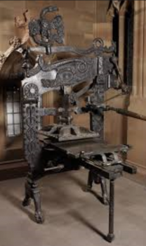 Harrow Green - printing press image