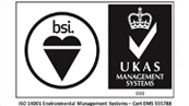 ISO 14001 Environmental Management Systems – Cert EMS 555788