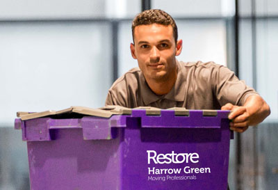 Crate hire - Harrow Green
